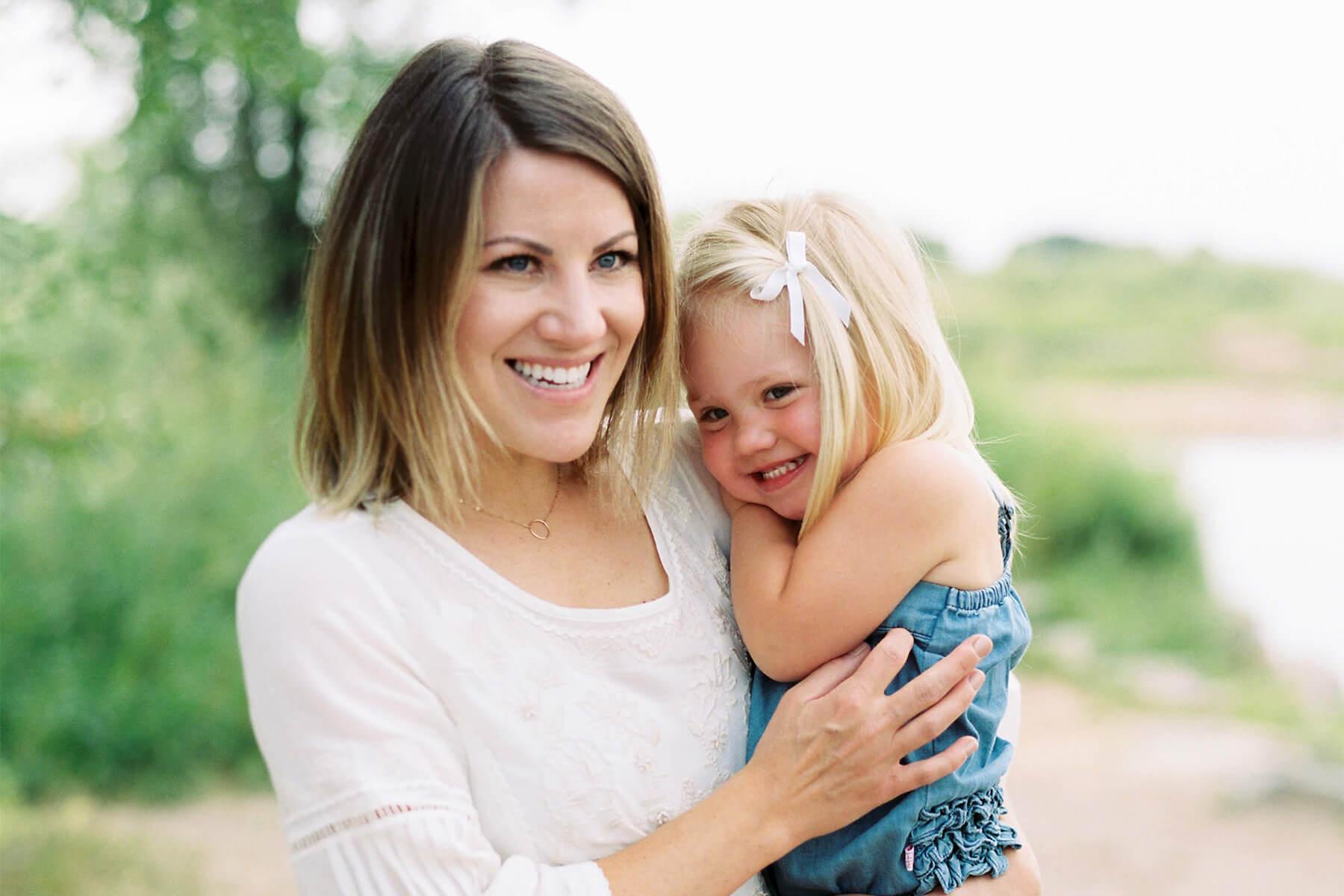 Rachel & Daughter